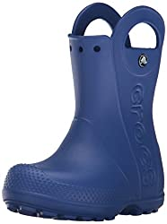 Crocs Handle It Rain Boot, Unisex - Kinder Gummistiefel, Blau (Cerulean Blue), 22/23 EU