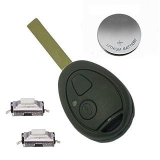 DIY-Reparatur Kit für Land Rover 75 MG Tasten Modernisierung 2 Schlüssel