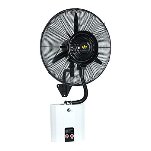 Ventilador montado en la Pared Ventilador de Pared Grande Ventilador de espray oscilante Industrial...