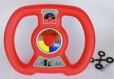 BIG Bobby Car Soundlenkrad Rot Sound Wheel