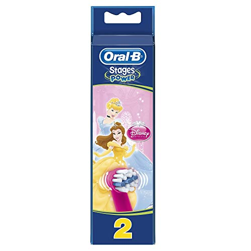 Oral-B Stages Power Aufsteckbürsten, unsortierte Motive, 4er Pack