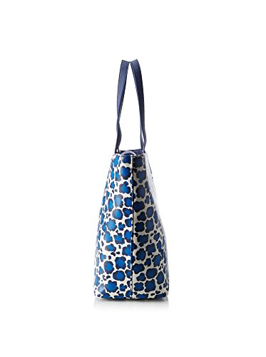 A16035E0087Y9190 Liu Jo Borse Shopping Donna Poliestere Fuxia Bianco/Blu