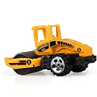 Construction Excavator Car Toys Push and Go Car Vehicles Toys for Kids 1pcs (street Roller)