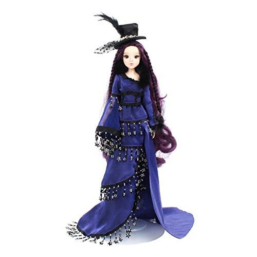 (MagiDeal 1/6 Anime Konstellation Mädchen Figur Kostüm Minipuppe Spielzeug Perfekt als Weihnachtsgeschenke für Kinder - Skorpion)
