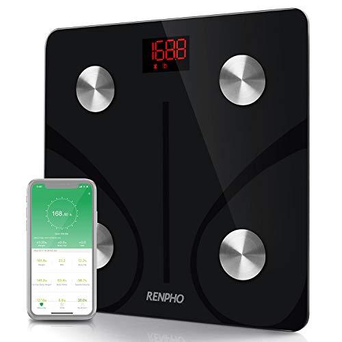 La marca Renpho está dedicada y dedicada al diseño, desarrollo y venta de escalas digitales. Especificaciones: Capacidad: 180 kg. Divisiones: 50 g. Unidades: kg/lb (unidades de conmutación a través de la APP) Características: encendido y apagado auto...