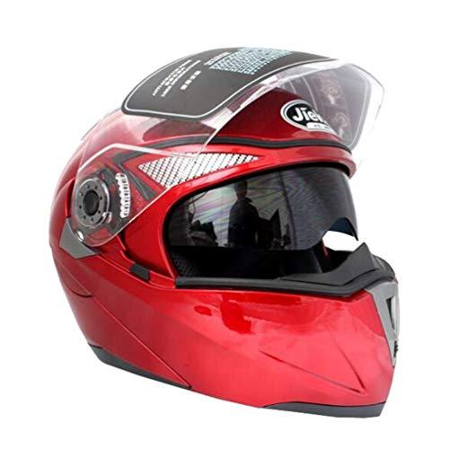 Uomini donne Mountain Road Casco del motociclo anti nebbia protezione UV adulti leggeri caschi aperti ad alte prestazioni anti caduta traspirante stagioni universale tappi di sicurezza 57-64cm