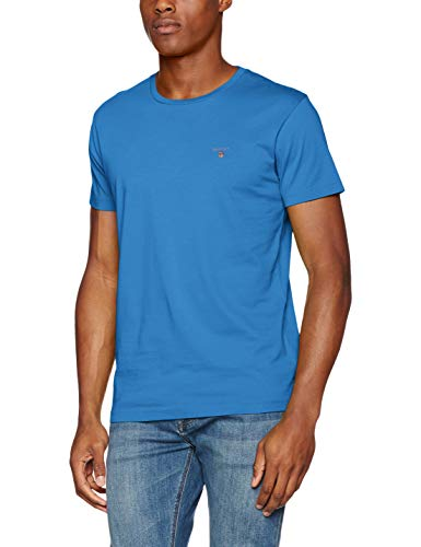 2f38baf0 Gant Men's's The The Original Ss T-Shirt Palace Blue 424, ...