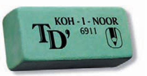 K6303 - KOH-I-NOOR - Radiergummi für weiche Graphitstifte - ohne Farbfestlegung