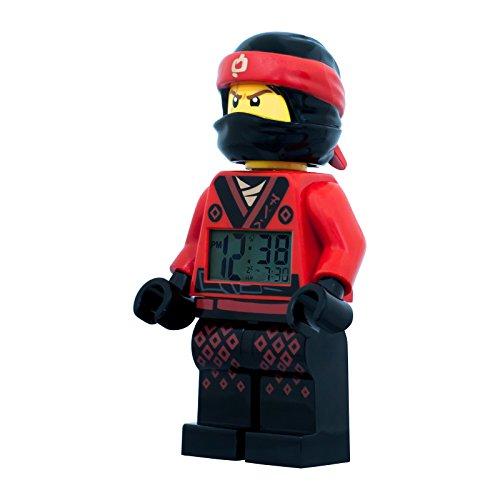 LEGO Ninjago Movie Kai Kinder Uhr Jungs Digital Wecker ULE9009211 Kai Ninjago Uhr