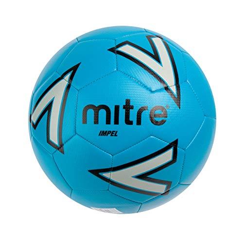 Mitre Impel Training Football - Blue/Silver/Black
