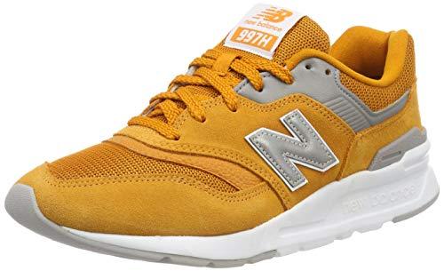 New Balance Herren 997H Core Sneaker, (Desert Gold/Silver), 45 EU -