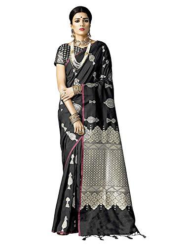 Indian Designer Party Wear Saree Banarasi Silk Sari Saree Bollywood Saree Kanchipuram Pure Silk Saree 01 -