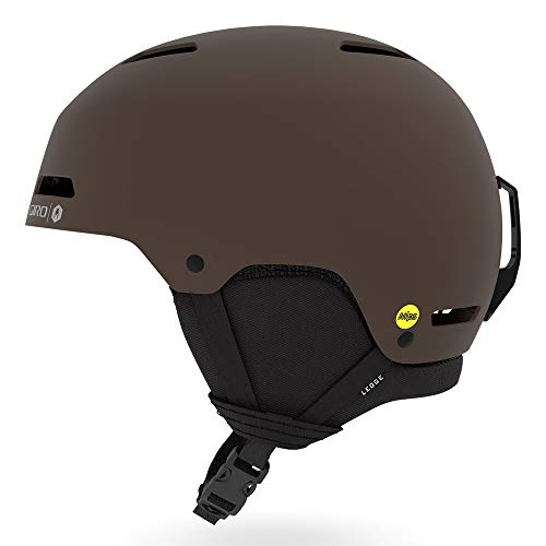 Giro Herren Ledge MIPS Skihelm mat Dark Brown Wolfgang, L/59-62.5 cm