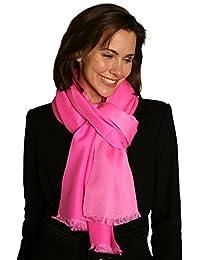 Pashmina Doubleface Schal 70x200cm pink - Kaschmirschal