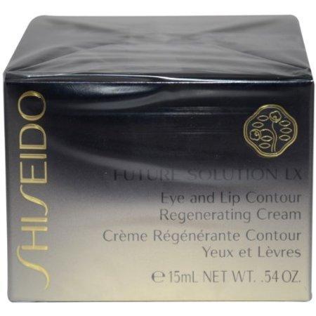 Shiseido Future Solution Lx Eye and Lip Contour Regenerating Cream for Unisex, 5ml/0.54oz by Jubujub (Eye Future Solution)