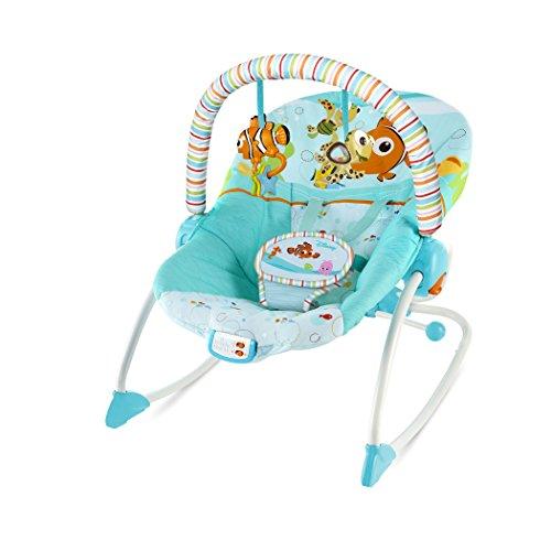 Disney Baby, Wippe für Babys und Kleinkinder, Findet Nemo Fins & Friends