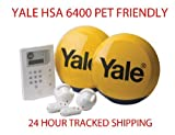 Yale HSA 6400 Premium PET FRIENDLY Telecommunicating Alarm System Wireless Wirefree