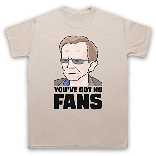 Wealdstone Raider You've Got No Fans Herren T-Shirt Beige