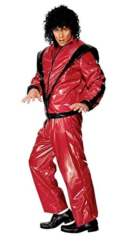Original Michael Jackson Kostüm Thriller Gr. 48/50 (M), 52/54 (L), Größe:L