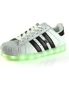 Muchachos Aemember' Zapatos PU Verano Otoño Primera caminantes iluminan zapatos Sneakers zapatos luminosos LED...