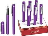 Brunnen 102911060 Schulfüller Colour Code (13 cm) violett / purple