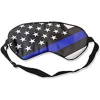 Comfortable Sleep Eyes Masks Blue Line American Flag Pattern Sleeping Mask For Travelling, Night Noon Nap, Mediation... preisvergleich bei billige-tabletten.eu