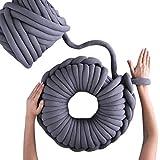Majome Couverture de tricotage de bras de fil super chunky