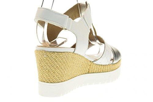 IGI&CO scarpe donna sandali con zeppa 78671/00 Bianco