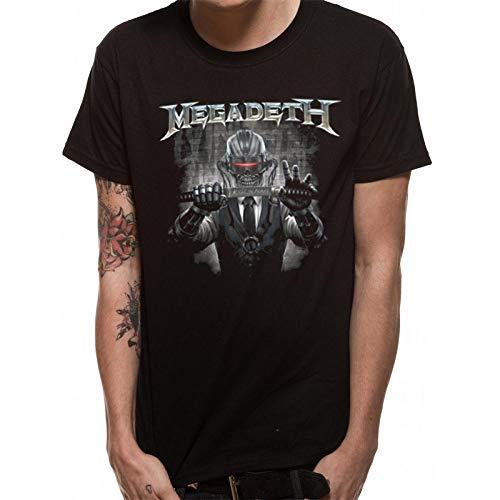 Megadeth - Camiseta Modelo Rust In Peace Blade para Adultos...