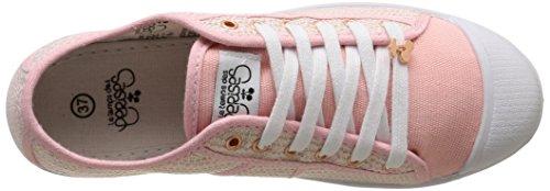 Le Temps des Cerises Ltc Basic 02 - Sneaker Donna Rosa (Rose (Twinkle Pink))