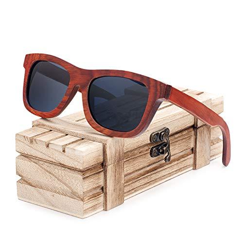 SLONGK New Luxury Holz Sonnenbrille Mann FrauenEinzigartiges DesignSonnenbrille