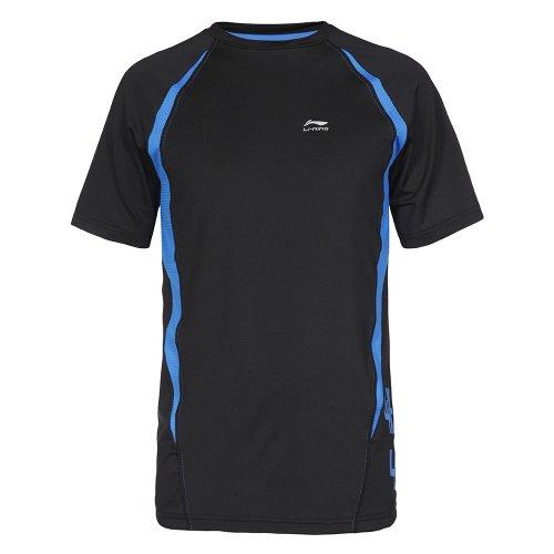 Li Ning Herren Lauf T-Shirt C277 Schwarz