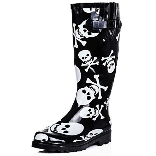 Stivali di Gomma Basse Ginocchio Nero EU 39
