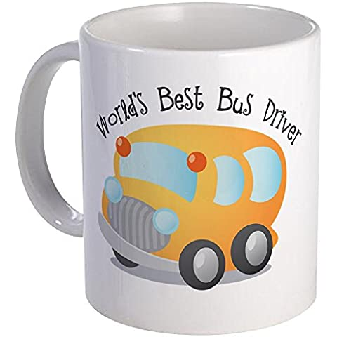 CafePress - World's Best Bus Driver - Coffee Mug, Novelty Coffee Cup by CafePress
