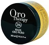 Illuminating Mask with Keratin and Argan 300ml Oro Puro Therapy 24k ® Maschera Illuminante con Cheratina e Argan