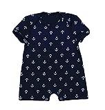 Yiiquan Säugling Baby Jungen Kleidung Romper Strampler Jumpsuits Kurzarm Drucken Overall Outfits Stil 5 Größe 66