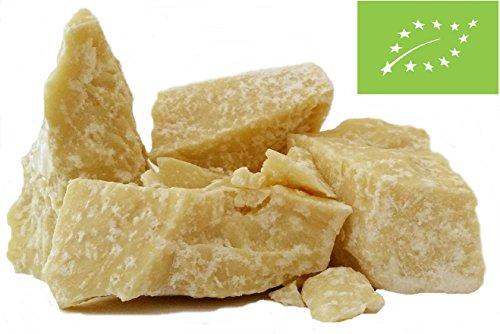 """Edelmond® 100% Bio Kakaobutter """"sanft und seidig"""" - Absolut Vegan, Laktose & Glutenfrei (200 g)"""