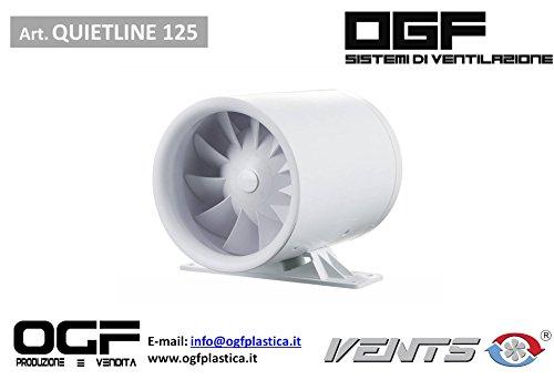 VENTS QUIET-LINE Ø125 VENTILATORE VMC - OGF VENTILAZIONE