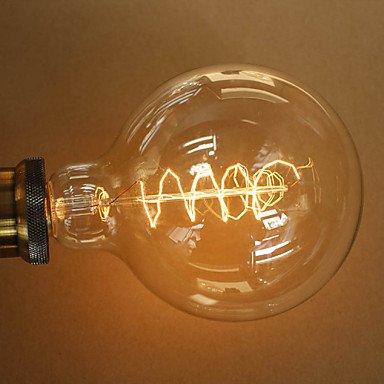 Industrie-leuchtstofflampen (HZZymj-40w e27 retro-Industrie-Stil transparent Glühbirne , 220-240v)