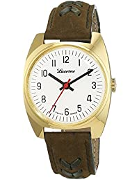 Lindberg & Sons Herren-reloj analógico de pulsera automático acero inoxidable LS-sil - HBR-M