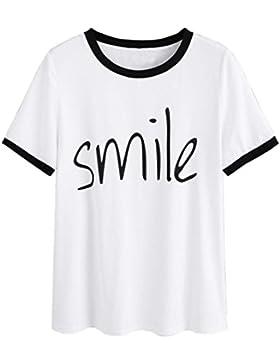 FAMILIZO Camisetas Mujer Originales Manga Corta Camisetas Mujer Manga Corta Blouse For Women Camisetas Mujer Verano...