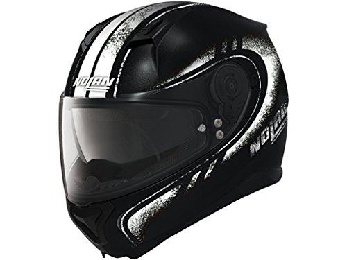 Nolan N87Fulgor Integral casco moto policarbonato N- Com–Negro