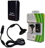 SME Xbox 360 Play and Charge Kit Rechargeable Battery Pack