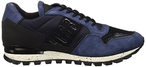 Bikkembergs Fend-er 739 Chaussure Nylon / Nabuk, Bas Scarpe Uomo Blu
