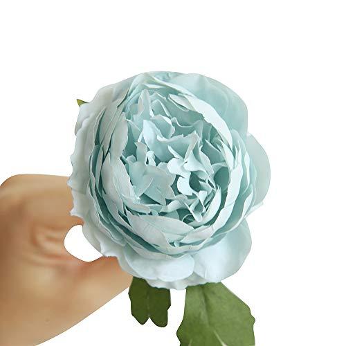 Kunstpflanze Haus Blumenblatt Dekor KüNstliche Blumen Halten Einzelkopf Huasu Wenig Tee Stieg Die Nacht Auf Kunstblumen KüNstliche StüCk Fake Rosen Flanell Blume Design Floral