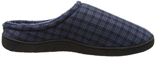 Dunlop Herren Absolon Hausschuhe Blue (Navy Check)