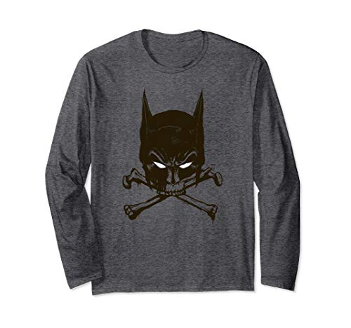 Batman Bat and Bones Langarmshirt -