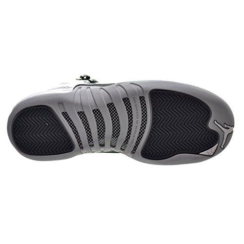 Nike Air Jordan 12 Retro Gg, Scarpe da Basket Bambina white/black-wolf grey