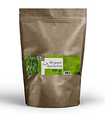 Organic Spirulina Powder 1.10 Lbs 17 Oz by GPH Diffusion
