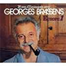 20 Ans D'�missions Avec Georges Brassens � Europe 1 - �dition Limit�e (Digipack 3 Volets)